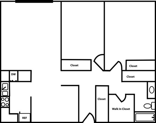 2 Bedroom Apartment for Rent - Northfield, MN